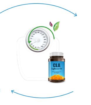 CLA Safflower Oil - rezultati - nezeljeni efekti